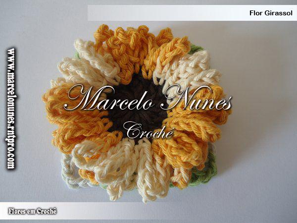 Flores Em Croch